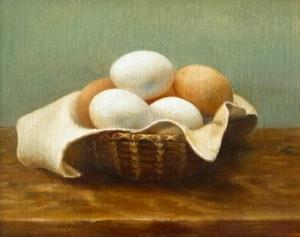 Chung.Eggs .oil.10x12.2009